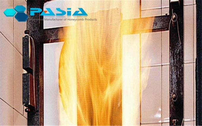 Fire Resistant Aluminum Honeycomb Panels With PE Polyester Powder Coated