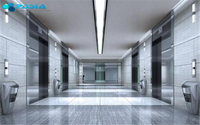Mill Finish Aluminium Core Panel , Interior Metal Wall Panels Scrubbing Resistance