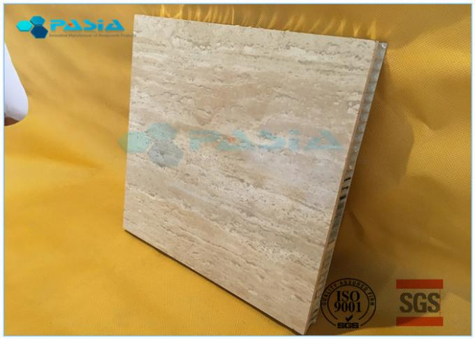 Rock Wool Backed Composite Stone Panels Cladding Module For Office Building