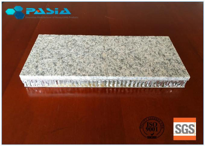 Granite Honeycomb Stone Panels / Thin Granite Panels Hammer Bushing Surface