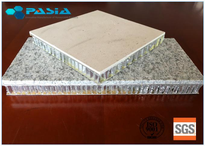Marble Stone Honeycomb Composite Panels 20 - 25 Mm Thickness For Office Decoration