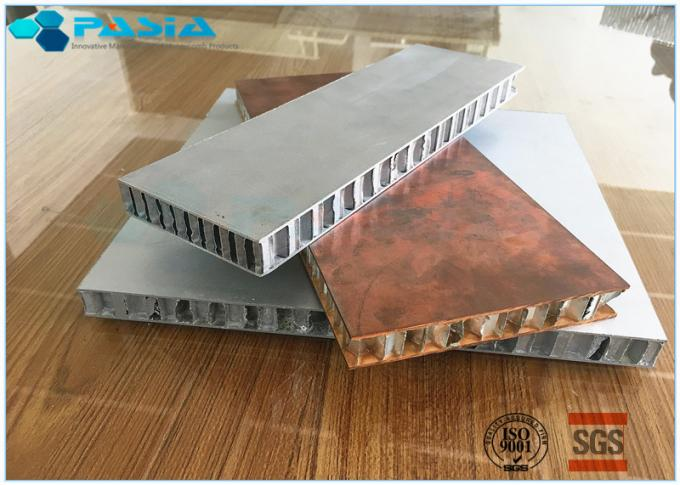 Long Duration Aluminum Honeycomb Panels , Honeycomb Material Customized Size