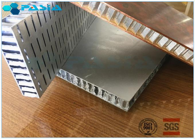 Aluminum Honeycomb Ceiling Composite Board Honeycomb Material 0.07MM Foil Thinkness