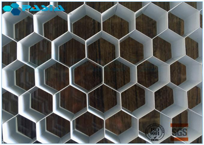 Customized Foil Thickness Aluminum Honeycomb Panels , Honeycomb Metal Sheet