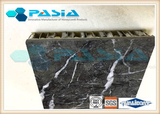 China Lightweight Stone Aluminum Honeycomb Panel With Marble Stone Veneer Anti - Pollution supplier