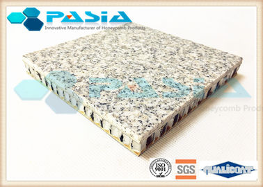 China Weather Proof Honeycomb Stone Panels With Aluminium Plate Fast Installation supplier