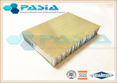 China Surface Plate Brushed Aluminum Honeycomb Panels 5mm / 12mm / 25mm Thickness supplier