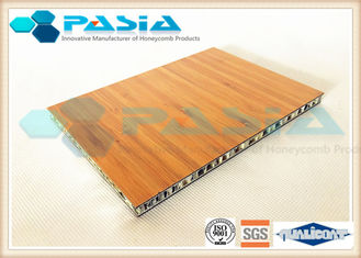 China Bamboo Veneer Composite Aluminum Faced Panels Soundproof Antirust supplier