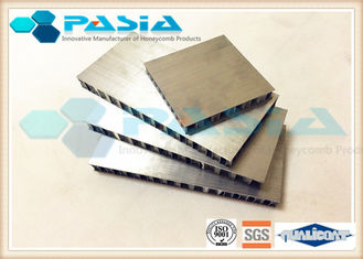 China Mill Finish Aluminium Core Panel , Interior Metal Wall Panels Scrubbing Resistance supplier