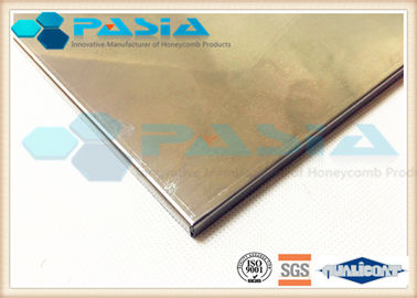 China Stainless Steel Honeycomb Metal Sheet , Anti Corrosion Elevator Interior Panels supplier