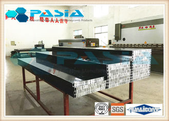 PVDF Powder Coated Aluminium Honeycomb Panel with Edge RHS Sealed for Facade Building