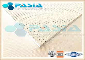 China Surface Perforated Honeycomb Flooring Panels With PVDF Fluorocarbon Powder Coated supplier