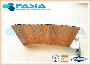China Wood Veneer Honeycomb Composite Panels Yacht Wall Use Corrosion Resistant supplier