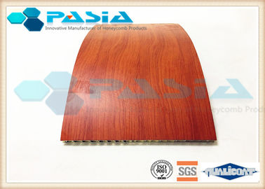 China Fire Proof Honeycomb Wall Panels With HPL High Pressure Laminate Partition Use supplier