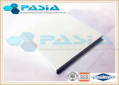 China Edge RHS Sealed Aluminium Honeycomb Wall Panels With Surface PVDF Powder Coated supplier
