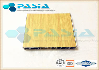 Aluminium Honeycomb Wall Panels With The Bamboo Pattern Veneer Acid Resistance