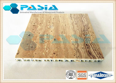 China High Strength Honeycomb Stone Panels , Commercial Ceiling Panels Anticorrosive supplier