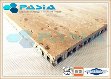 High Strength Honeycomb Stone Panels , Commercial Ceiling Panels Anticorrosive
