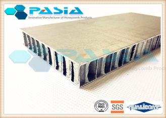 China Brushed Metal Honeycomb Door Panels For Shipbuilding / High Speed Train supplier