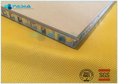 China Sandstone Aluminium Honeycomb Panel With Edge Sealed Thickness 20mm - 30mm supplier