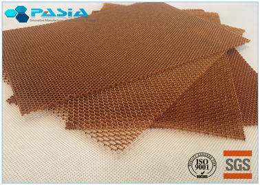 China Light Weight Flame Retardant Aramid Honeycomb Panels With Benzoxazine Resin supplier