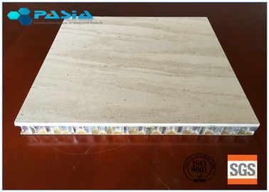 China Marble Stone Honeycomb Composite Panels 20 - 25 Mm Thickness For Office Decoration supplier