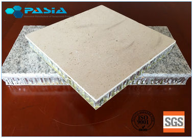 China Marble Aluminium Honeycomb Stone Panels For Transportation Tooles Inner Decoration supplier