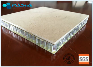 China 25 Mm Thickness Lightweight Marble Panels Match Relevant Fire Resistance Standard supplier