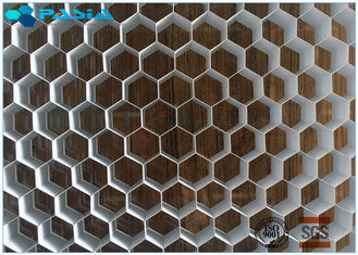 China Aluminum Honeycomb Ceiling Composite Board Honeycomb Material 0.07MM Foil Thinkness supplier