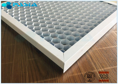 China Curtain Wall Aluminum Honeycomb Core Board With High Strength Expanded supplier