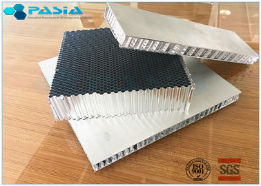 China High Rigid Aluminum Honeycomb Core Board , Honeycomb Material For Sandwich Panels supplier