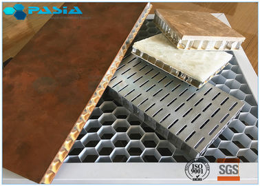 Ultra Wide Edge Open Flat Aluminum Honeycomb Board Panel 5mm Thickness