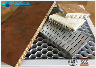 China Ultra Wide Edge Open Flat Aluminum Honeycomb Board Panel 5mm Thickness supplier
