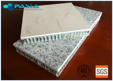 China Polished 20mm Thickness Honeycomb Stone Panels Lightweight Aluminum Panels supplier