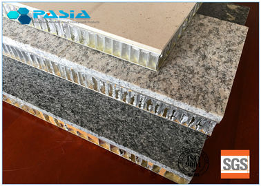 China Durable Honeycomb Stone Panels 25mm Thickness Marble Flat Board 10 Years Guarantee supplier