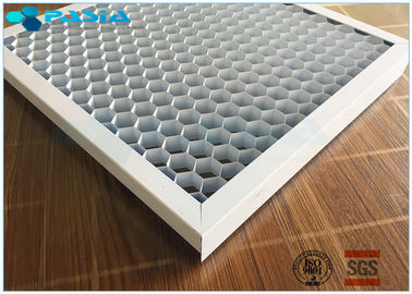China Customized Foil Thickness Aluminum Honeycomb Panels , Honeycomb Metal Sheet supplier
