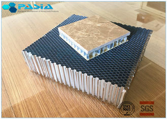 China High Rigidity Aluminum Honeycomb Panels , Honeycomb Core Panels 25 Mm Thickness supplier