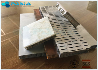 China Perforated 6mm Side Length Aluminum Honeycomb Material Core Anti Static Composite Floor supplier