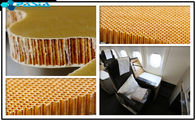 China Commercial Nomex Honeycomb Fiberglass Sheets Twill Weave Pattern Damage Resistance factory