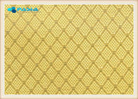 Gilded / Silver Plated Carbon Fiber Honeycomb Panels , Aramid Honeycomb Core Sheet