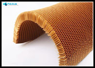 China Para - Aramid Curved Honeycomb Core High End Application Heat Resistance company