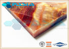 China Moisture Proof Aluminum Honeycomb Ceiling Tiles , Lightweight Panel Board company