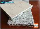 China Anti - Pollution Honeycomb Roof Panels , Aluminium Honeycomb Board High Strength factory