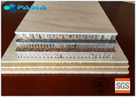China 2400mm * 2400mm Honeycomb Stone Panels Large Size Marble Veneer Wall Panels factory