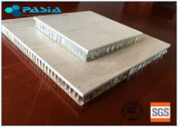 China Natural Large Size Honeycomb Stone Panels , Marble Composite Panels With Edge Folded factory