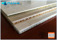 Granite Stone Honeycomb Roofing Material Shingle Sandwich Panel 600mm * 600mm
