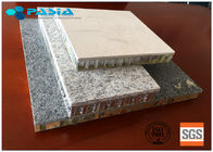 Edge Sealed Marble Flat Board Aluminum Stone Honeycomb Panel Customized Thickness