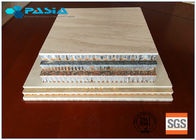 600x600 Sized Marble Honeycomb Stone Panels Aluminum Honeycomb Core Panels