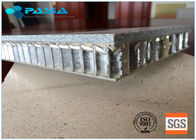 Customized Marble Stone Aluminum Honeycomb Panels Edge Open 900x1500 Sized