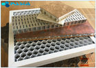 28mm Thickness Eco - Friendly Aluminum Honeycomb Core Panels Curtain Wall Board